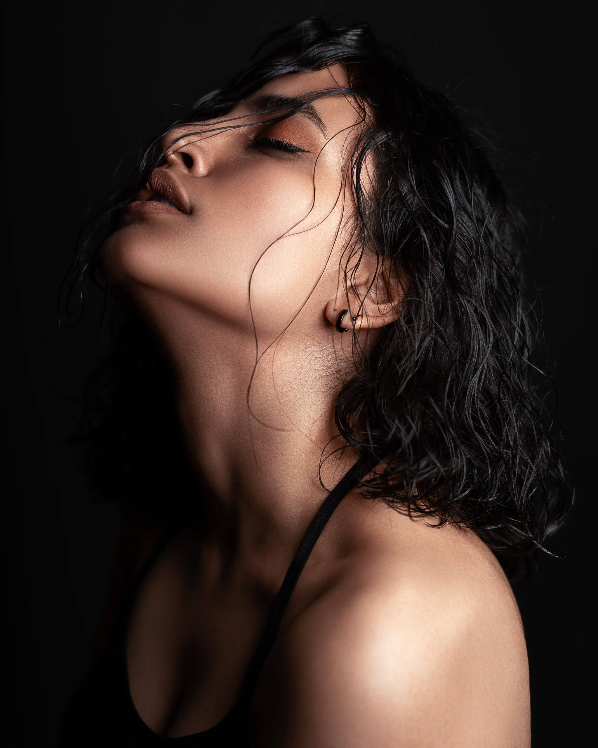 Fekete hajszín