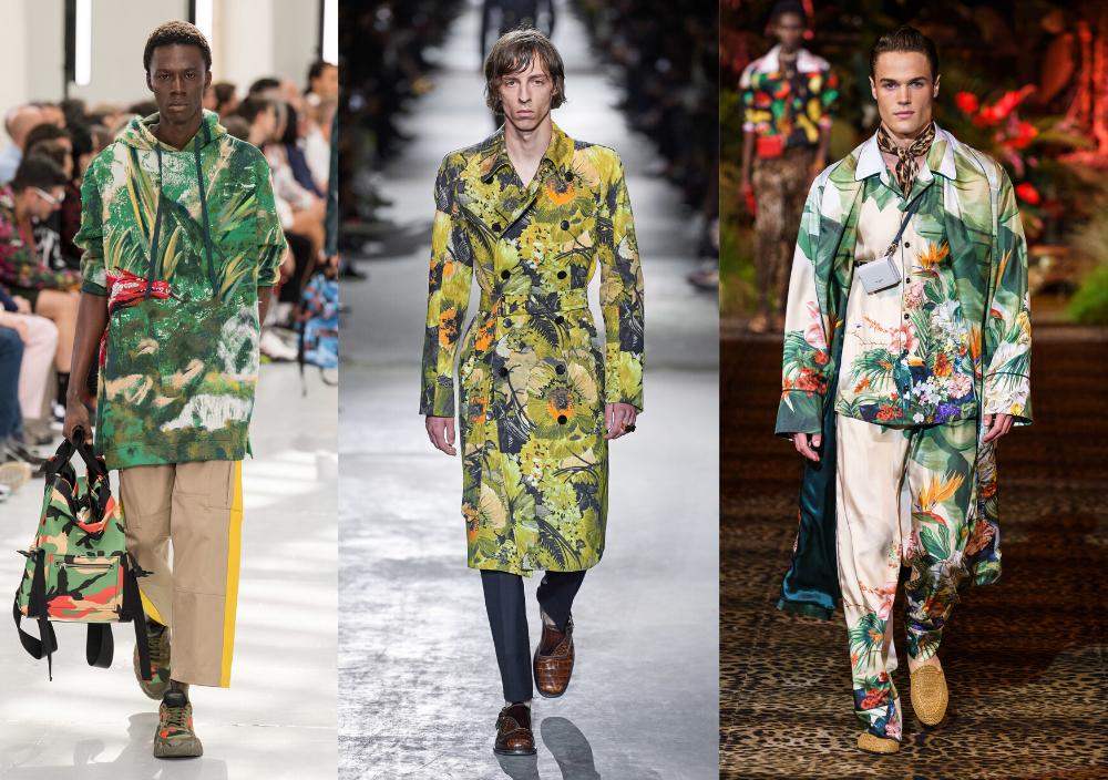 Férfi divat 2020 tavasz