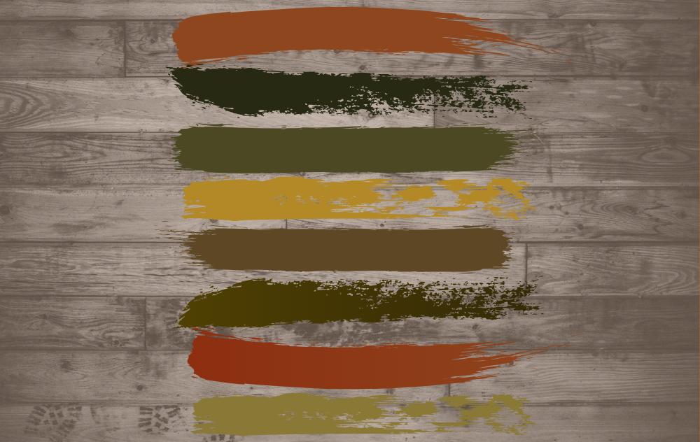 Földszínek