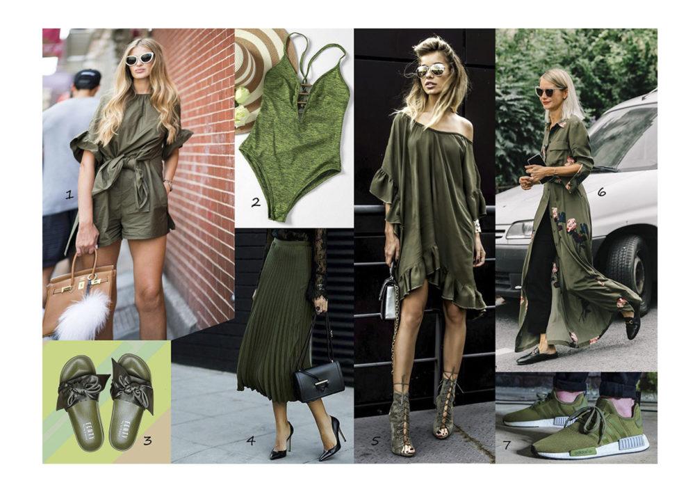 Katonai zöld