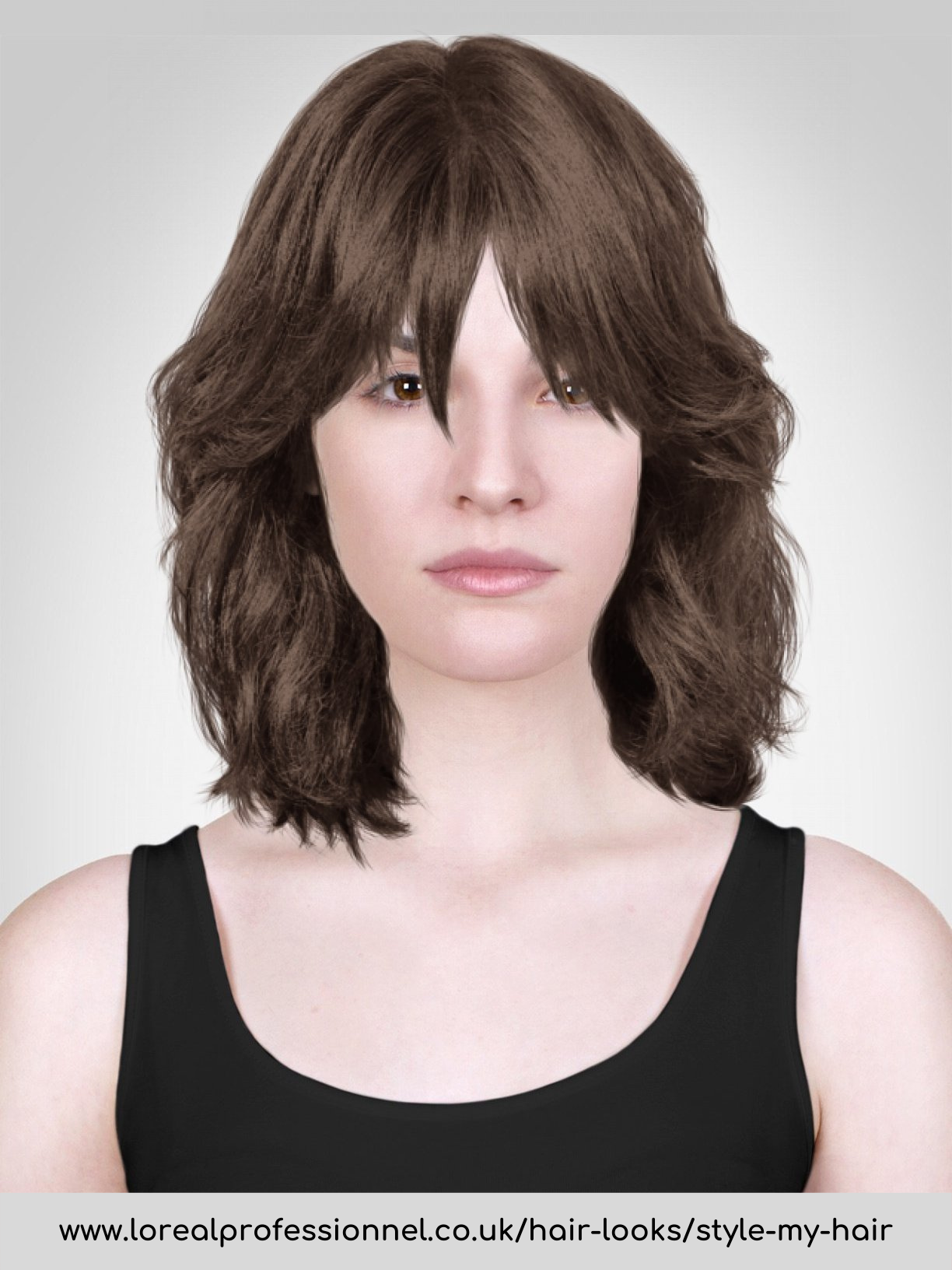 Szögletes archoz frizura