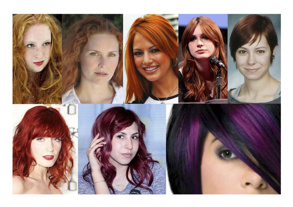 Vörös hajszín